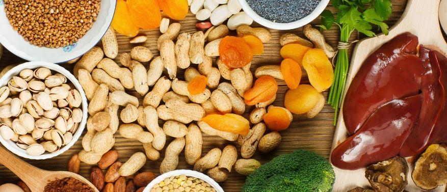 Eisenhaltige Lebensmittel für Veganer