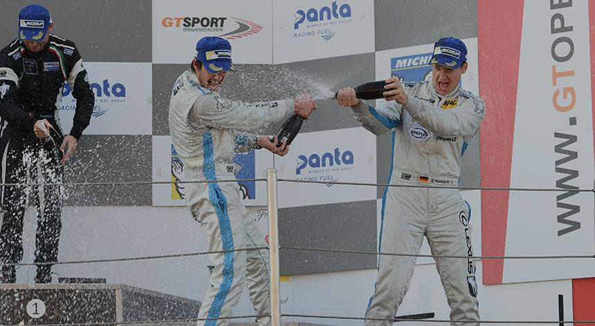 Erfolgreicher Saisonabschluss für Farnbacher Racing bei der International GT Open