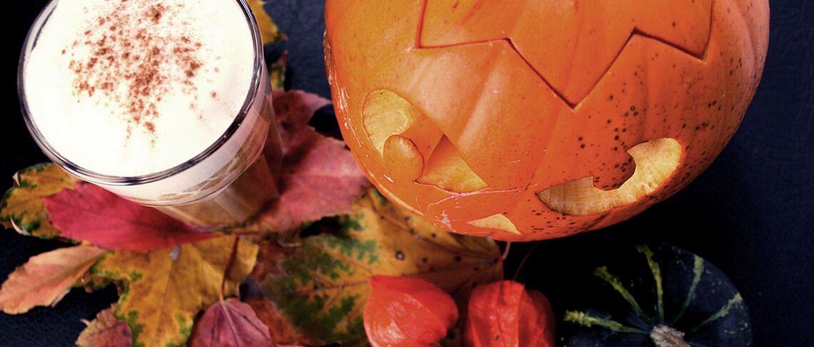 Rezept mit MCT Öl - Halloween Rocket Latte