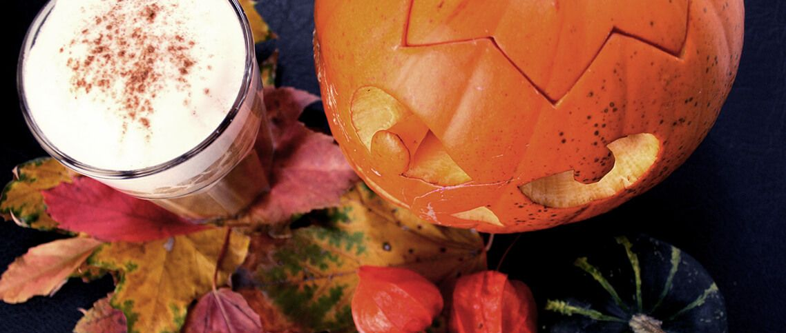 Recipe with MCT oil - Halloween Rocket Latte