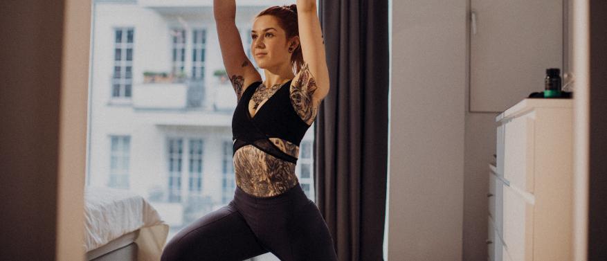 Zuhause trainieren: So bleibst du in Corona-Zeiten fit