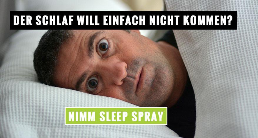 Der Schlaf will einfach nicht kommen?
