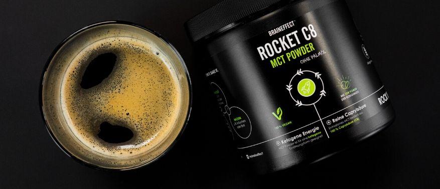 ROCKET C8 MCT en poudre
