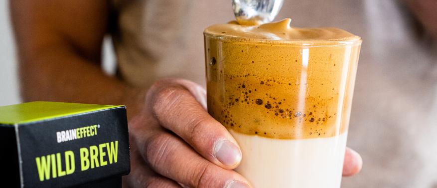 Dalgona Coffee Kreation Wild Brew