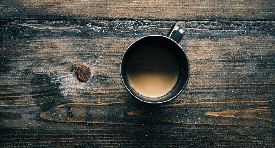 Kaffee mit Chaga Pilz Extrakt