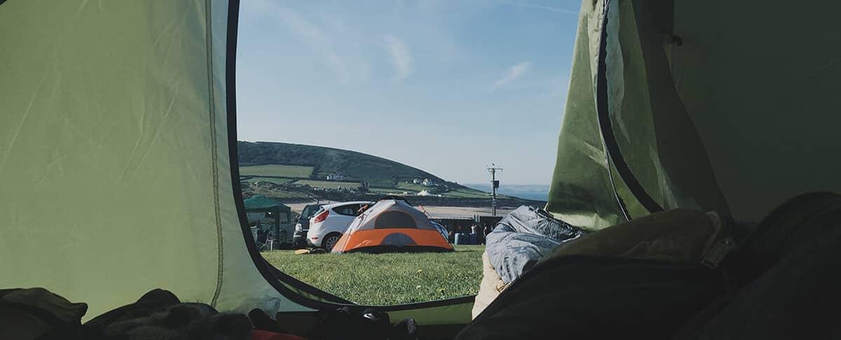Campen statt Hotel
